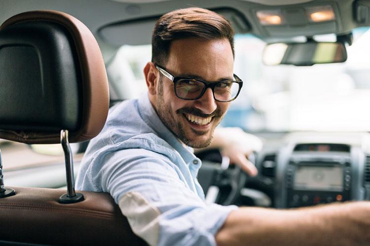 Autofahrer-Brillen